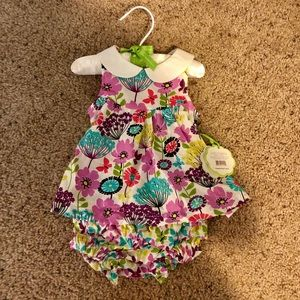 Vera Bradley two piece dress with bloomers